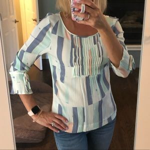 3/4 sleeve blouse by Caslon